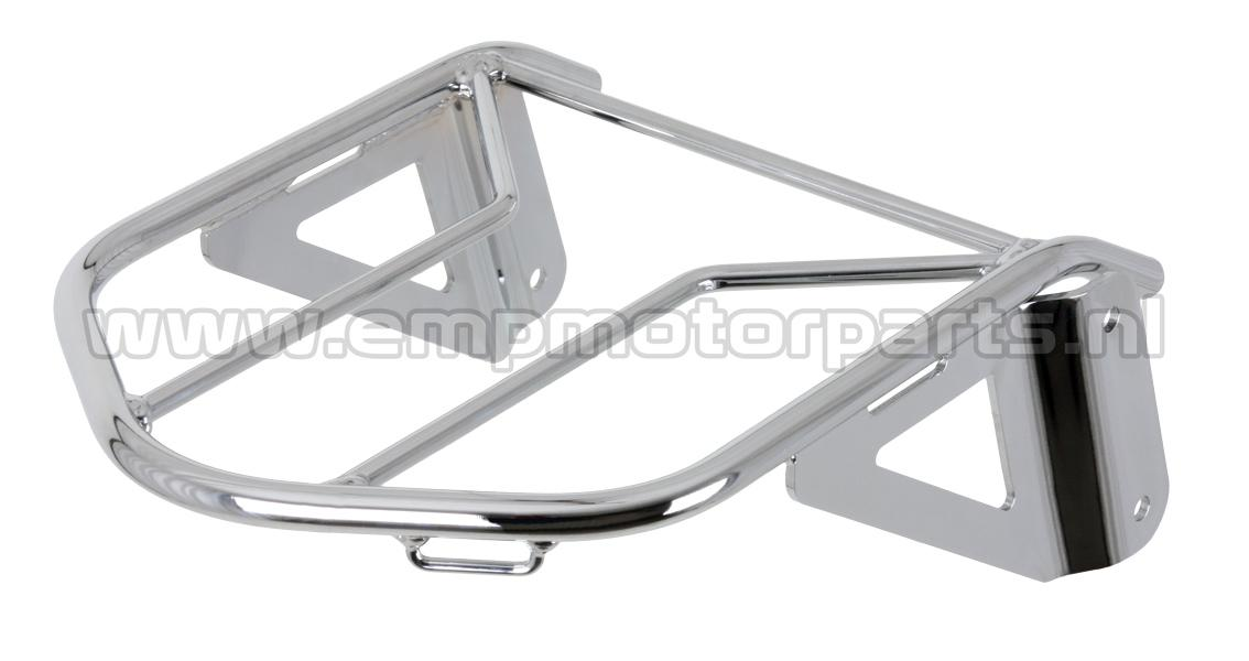 Bagagedrager - licht beschadigd Luggage carrier suitable for the original sissy bar from Kawasaki as on the attached picture.Kawasaki VN 1600 Vulcan Classic-Tourer-Nomad (2)