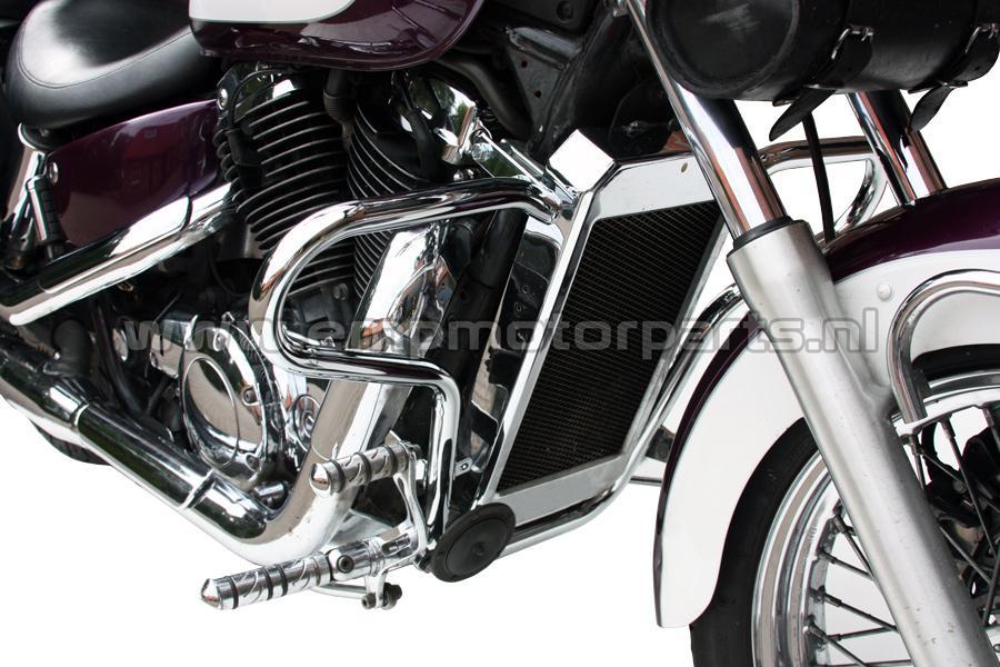 Crashbar Comfort Line Honda (3)