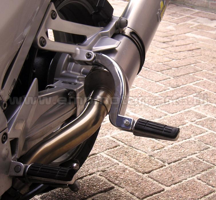 Voetsteunverlenger Voetsteunverlager (zwart gecoat) Honda (3)