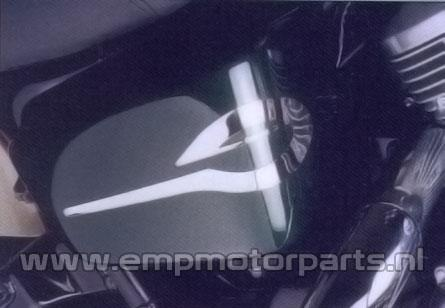 Side cover logo Honda VT
