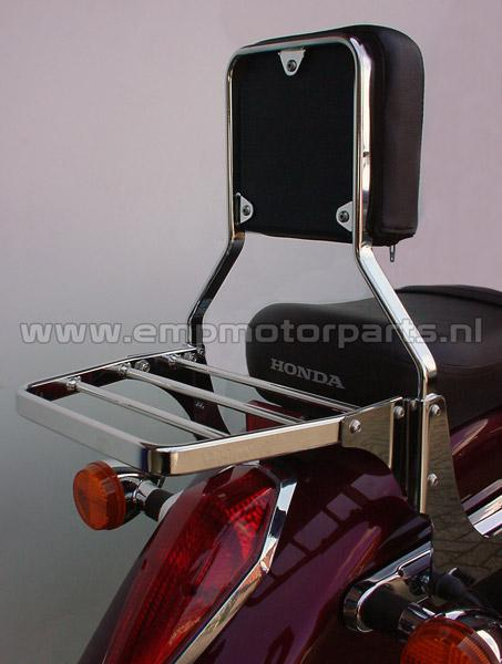 Luggage carrier VKT The carrier fits all models EMP sissy bars, luggage carrier sets and handgrip bar sets with the exception of sissy bar Basic and Basic Plus. (2)