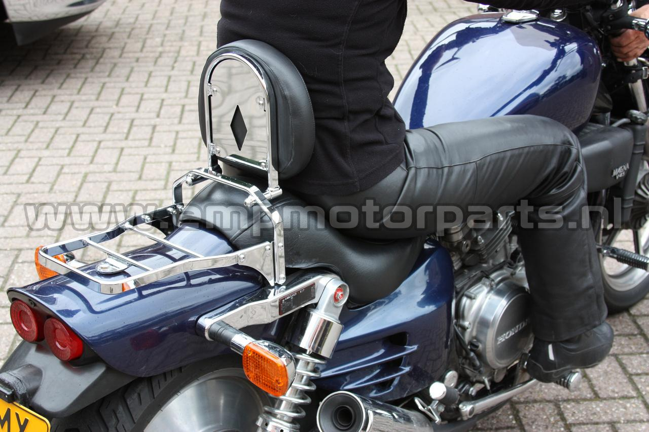 Driver backrest and luggage rack Honda