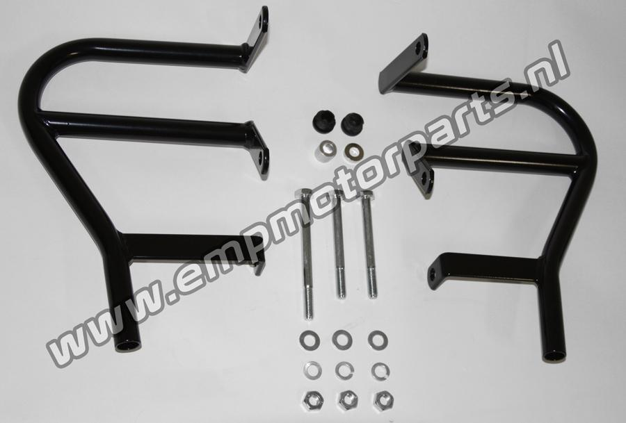 Crashbar Cross and Enduro (black coated) BMW (2)