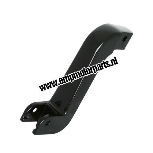 Footpeg lowering set (black coated) Suzuki