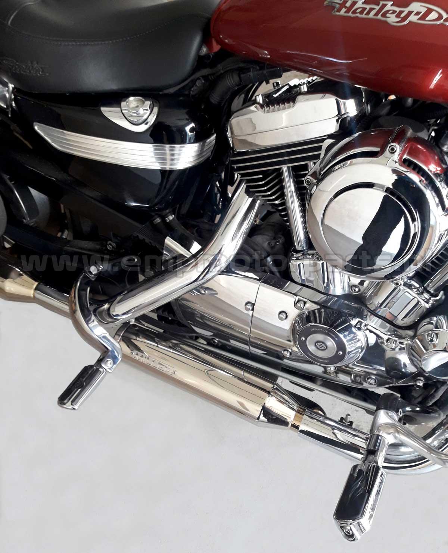Footpeg lowering set Harley (3)