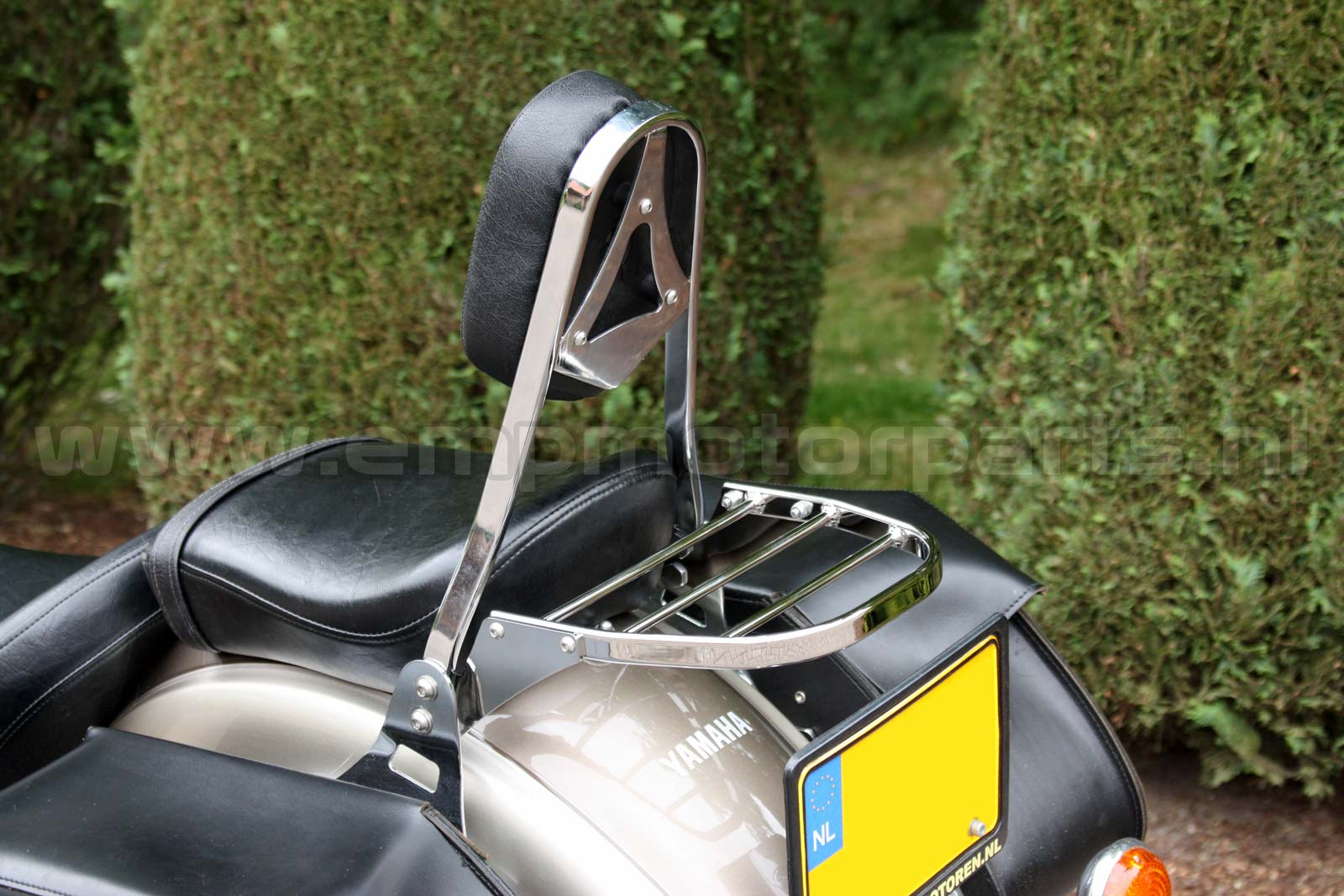 Bagagedrager universeel Luggage carrier, suitable for an model sissy bar as on the picture. (1)