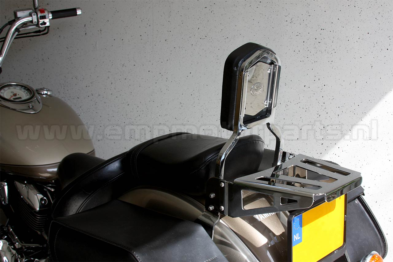 Bagagedrager universeel Luggage carrier, suitable for an model sissy bar as on the picture. (3)