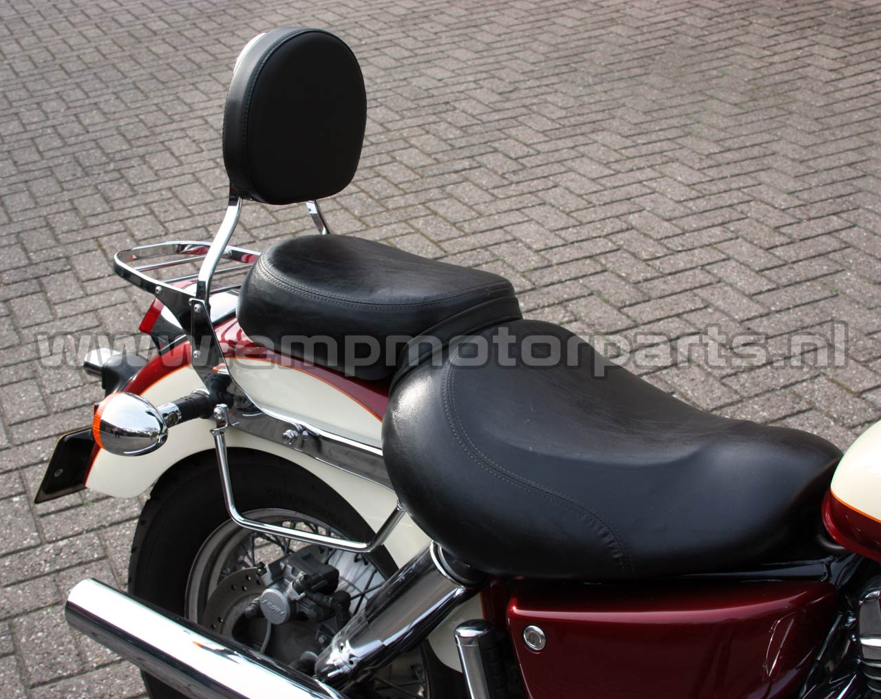 Saddlebag supports Honda (2)