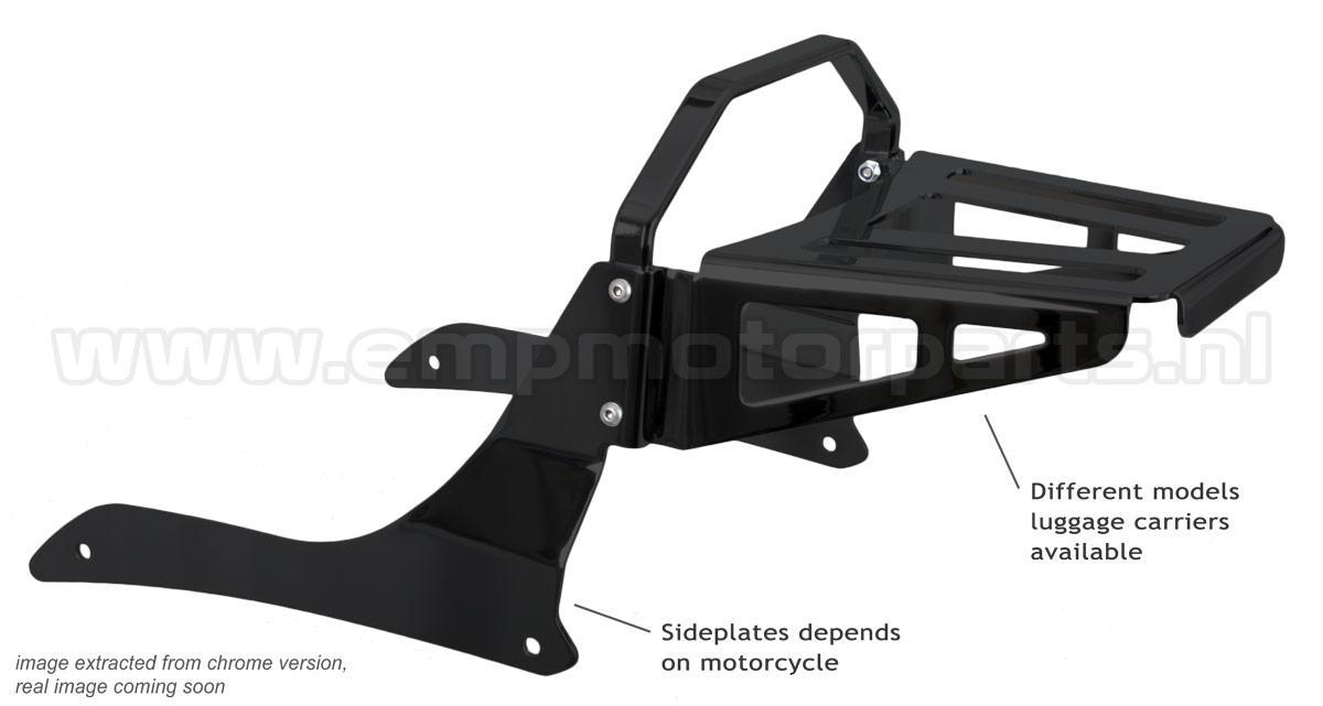 Gepäckbrücke Satz (schwarz beschichtet) Suzuki