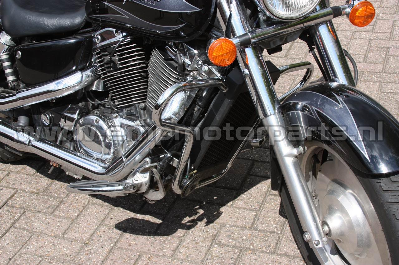 Crashbar Comfort Line Honda (4)