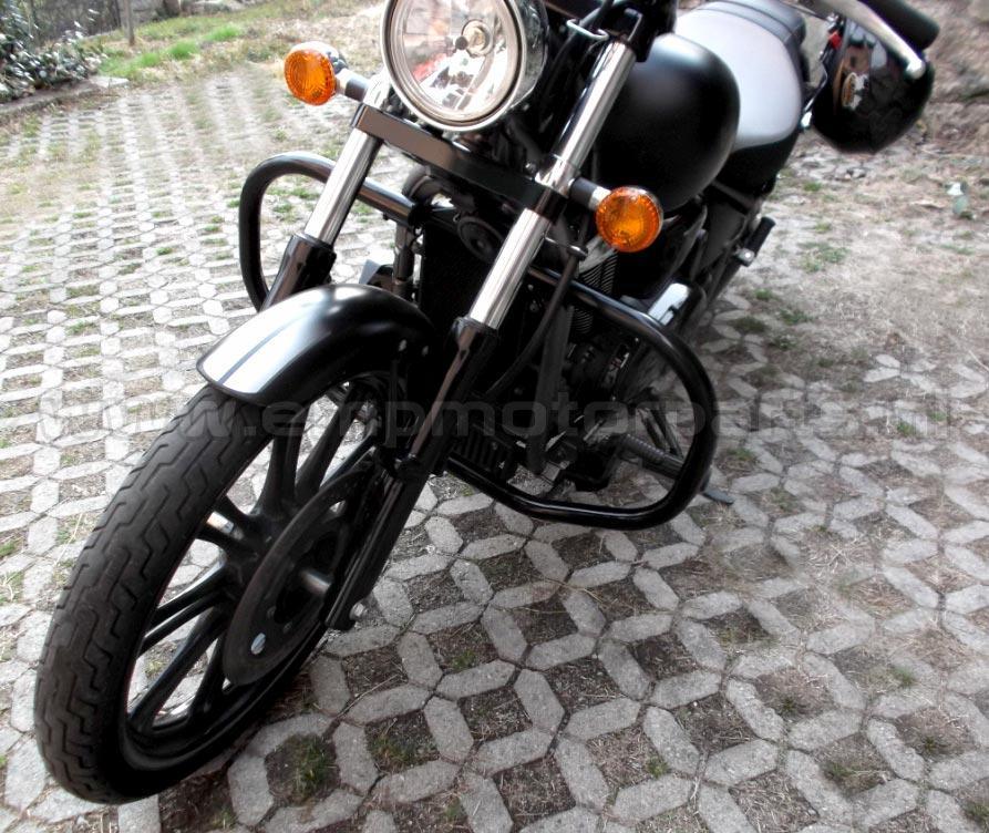Valbeugel Top Line (zwart gecoat) Kawasaki (2)